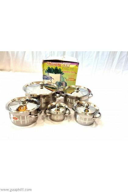 Shanti 555 Stock Pot Food Containers G12891