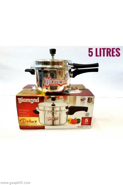 Diamond Pressure Cooker Deluxe Stainless Steel 5 Litre G16124