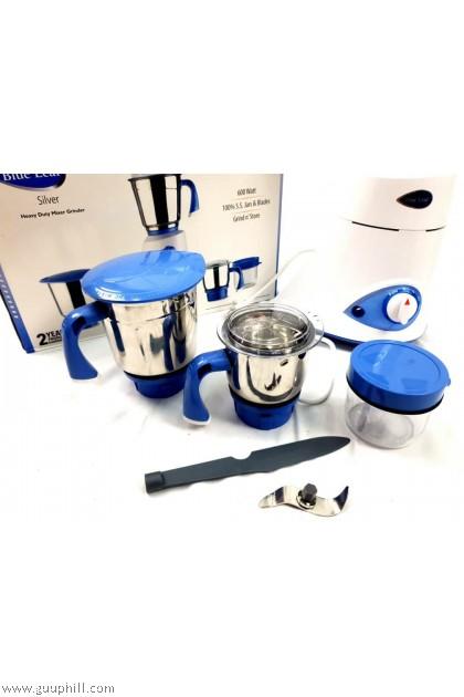 Preethi  Mixer Grinder Best Quality Blue Leaf Silver G15391