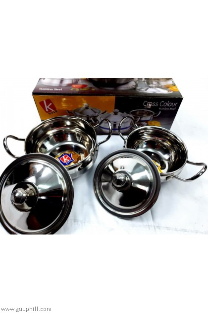 K Gold Dining Pot Food Containers Stainless Steel G17118