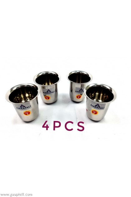 Stainless Thick Tumbler 4 Pcs G17139