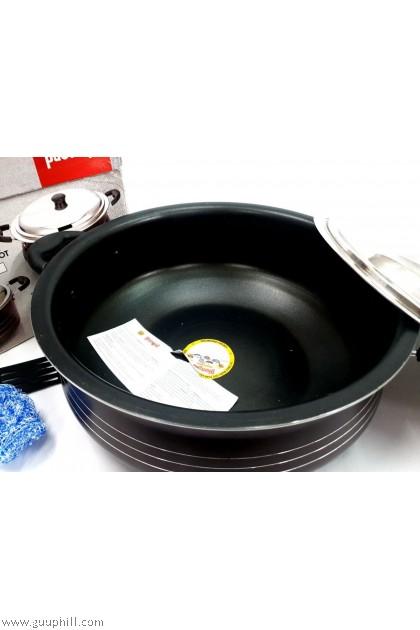 Diamond Non Stick Gravy Pot Super Jumbo Cook Pan with Lid 39 cm G17307