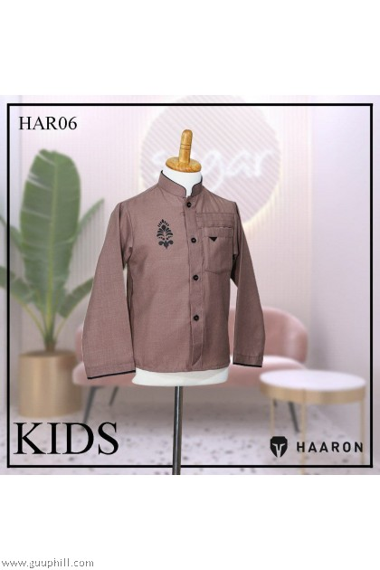 New Design Boy's Linen Kurtha/Jippa G-J-001